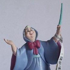 Figuras de Goma y PVC: WALT DISNEY FIGURA PVC HADA MADRINA CENICIENTA-BULLYLAND-CON ETIQUETA. Lote 219754632