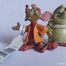 Figuras de Goma y PVC: WALT DISNEY FIGURA PVC GUS Y JACK-CENICIENTA -BULLYLAND-CON ETIQUETA. Lote 219755166