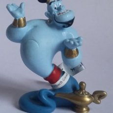 Figuras de Goma y PVC: WALT DISNEY FIGURA PVC GENIO ALADDIN-BULLYLAND-CON ETIQUETA. Lote 219815416