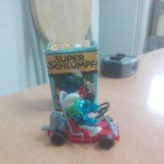 Figuras de Goma y PVC: PITUFO EN CAR -- PEYO -- CAJA -REF. 4.0218. Lote 219882208