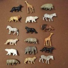 Figuras de Goma y PVC: FIGURAS DE ANIMALES EN GOMA. Lote 219959988