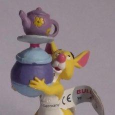 Figuras de Goma y PVC: WALT DISNEY FIGURA PVC WINNIE THE POOH-BULLYLAND-CON ETIQUETA. Lote 219962695