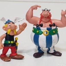 Figuras de Goma y PVC: 2 FIGURAS ASTERIX Y OBELIX - COMICS SPAIN. Lote 220098280