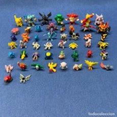 Figuras de Goma y PVC: LOTE 49 FIGURAS POKEMON PVC - DIFERENTES MARCAS. Lote 220106508