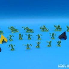 Figuras de Borracha e PVC: INDIOS MONTAPLEX. Lote 220247735