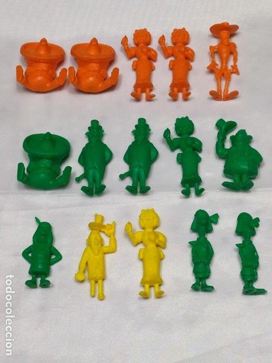 LUCKY LUKE (Juguetes - Figuras de Goma y Pvc - Dunkin)