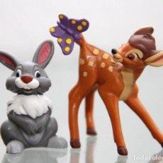 Figuras de Goma y PVC: FIGURAS PVC BAMBI Y TAMBOR - BULLYLAND. Lote 250287115