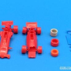 Figuras de Goma y PVC: LOTE COCHES Y RUEDAS DUNKIN DE BIMBO. Lote 220297037