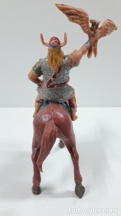 Figuras de Goma y PVC: VIKINGO GUNDAR PARA CABALLO . SERIE EL CAPITAN TRUENO ESTEREOPLAST . AÑOS 60 . CABALLO NO INCLUIDO - Foto 3 - 220414783