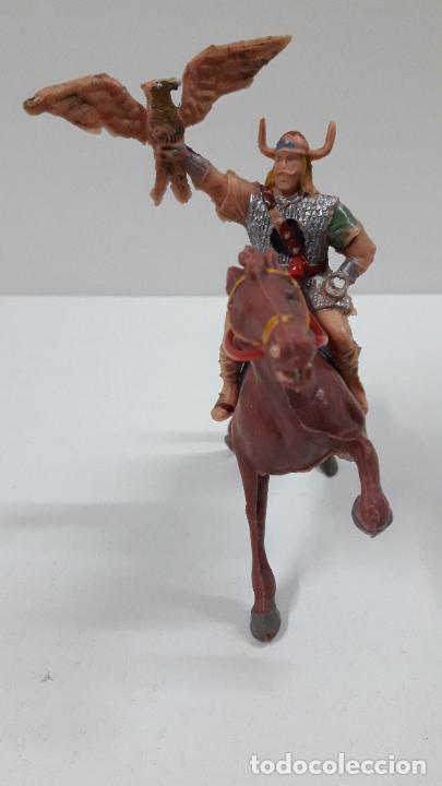Figuras de Goma y PVC: VIKINGO GUNDAR PARA CABALLO . SERIE EL CAPITAN TRUENO ESTEREOPLAST . AÑOS 60 . CABALLO NO INCLUIDO - Foto 4 - 220414783