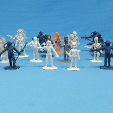 Figuras de Goma y PVC: 18 FIGURAS DE THUNDERBIRDS - GUARDIANES DEL ESPACIO - COMANSI. Lote 220455981