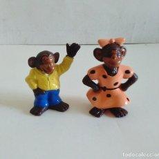 Figuras de Goma y PVC: FIGURAS PROMOCIÓN DETERGENTE OMO MONOS CHIMPANCÉS. Lote 220500151