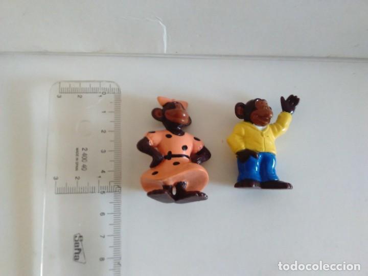 Figuras de Goma y PVC: FIGURAS PROMOCIÓN DETERGENTE OMO MONOS CHIMPANCÉS - Foto 2 - 220500151