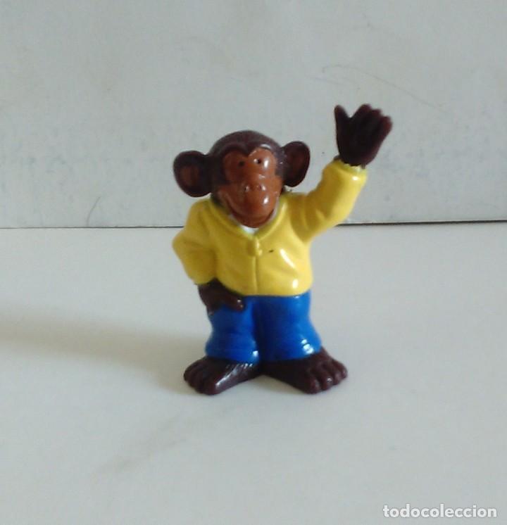 Figuras de Goma y PVC: FIGURAS PROMOCIÓN DETERGENTE OMO MONOS CHIMPANCÉS - Foto 3 - 220500151