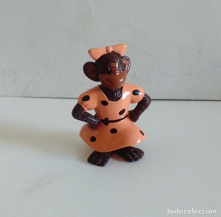 Figuras de Goma y PVC: FIGURAS PROMOCIÓN DETERGENTE OMO MONOS CHIMPANCÉS - Foto 4 - 220500151