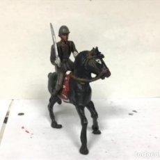 Figuras de Goma y PVC: FIGURA MILITAR TEIXIDO SOLDADO DESFILE TEIXIDOR INFANTERIA ESPAÑOLA SIMILAR PECH JECSAN REAMSA. Lote 220622268