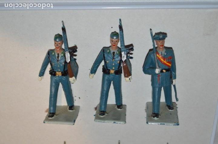 Figuras de Goma y PVC: SOLDADOS VARIADOS - Antiguo/vintage - 17 Soldados desfilando - REAMSA y GOMARSA - ¡Mira fotos! - Foto 7 - 220868550