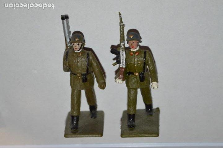 Figuras de Goma y PVC: SOLDADOS VARIADOS - Antiguo/vintage - 17 Soldados desfilando - REAMSA y GOMARSA - ¡Mira fotos! - Foto 24 - 220868550