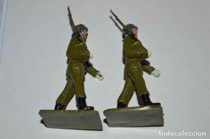 Figuras de Goma y PVC: SOLDADOS VARIADOS - Antiguo/vintage - 17 Soldados desfilando - REAMSA y GOMARSA - ¡Mira fotos! - Foto 21 - 220868550