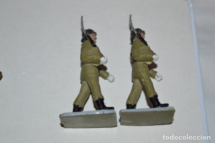 Figuras de Goma y PVC: SOLDADOS VARIADOS - Antiguo/vintage - 17 Soldados desfilando - REAMSA y GOMARSA - ¡Mira fotos! - Foto 29 - 220868550