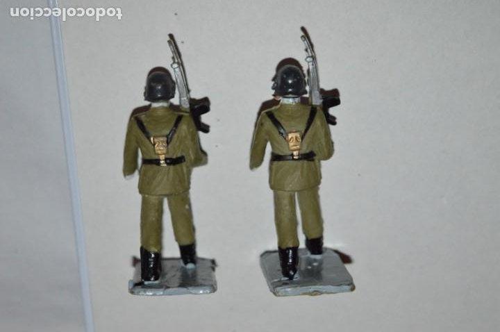 Figuras de Goma y PVC: SOLDADOS VARIADOS - Antiguo/vintage - 17 Soldados desfilando - REAMSA y GOMARSA - ¡Mira fotos! - Foto 28 - 220868550