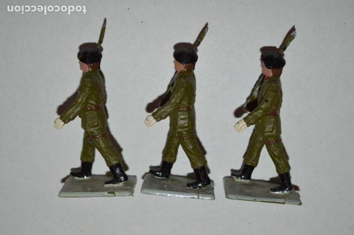Figuras de Goma y PVC: SOLDADOS VARIADOS - Antiguo/vintage - 17 Soldados desfilando - REAMSA y GOMARSA - ¡Mira fotos! - Foto 18 - 220868550