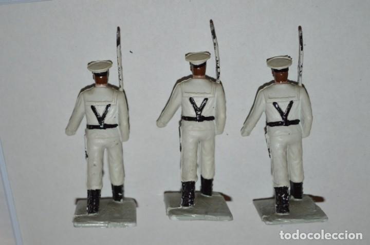 Figuras de Goma y PVC: MARINA / LA ARMADA - Antiguo/vintage - 13 Soldados desfilando - REAMSA y GOMARSA - ¡Mira fotos! - Foto 13 - 220886877
