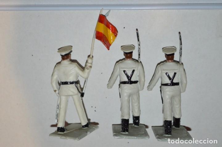 Figuras de Goma y PVC: MARINA / LA ARMADA - Antiguo/vintage - 13 Soldados desfilando - REAMSA y GOMARSA - ¡Mira fotos! - Foto 14 - 220886877