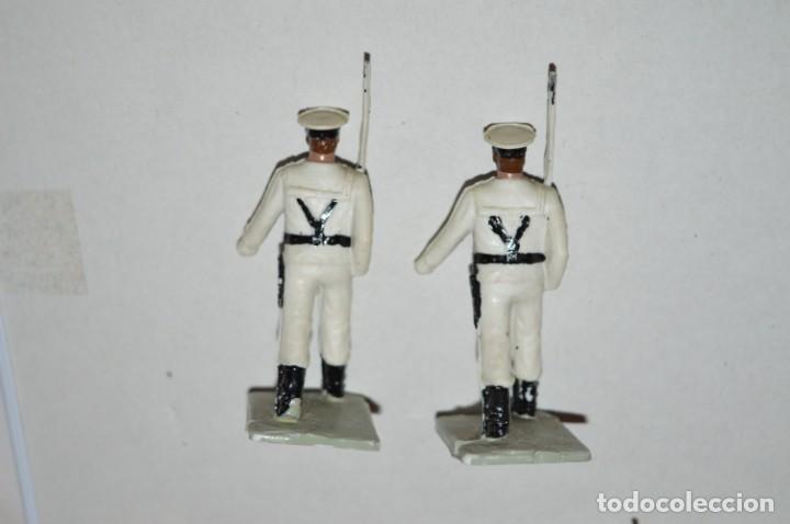 Figuras de Goma y PVC: MARINA / LA ARMADA - Antiguo/vintage - 13 Soldados desfilando - REAMSA y GOMARSA - ¡Mira fotos! - Foto 15 - 220886877