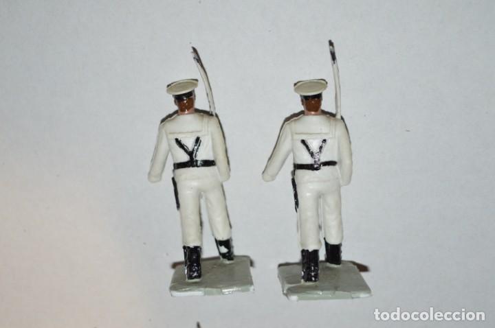 Figuras de Goma y PVC: MARINA / LA ARMADA - Antiguo/vintage - 13 Soldados desfilando - REAMSA y GOMARSA - ¡Mira fotos! - Foto 16 - 220886877