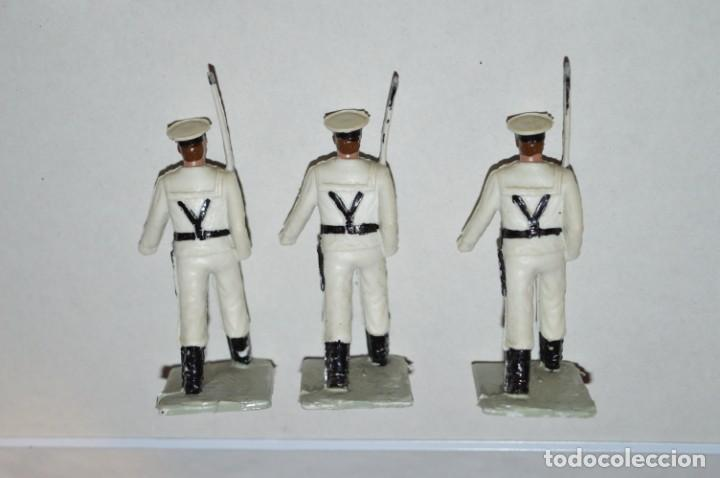 Figuras de Goma y PVC: MARINA / LA ARMADA - Antiguo/vintage - 13 Soldados desfilando - REAMSA y GOMARSA - ¡Mira fotos! - Foto 17 - 220886877