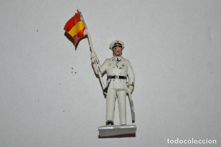 Figuras de Goma y PVC: MARINA / LA ARMADA - Antiguo/vintage - 13 Soldados desfilando - REAMSA y GOMARSA - ¡Mira fotos! - Foto 23 - 220886877
