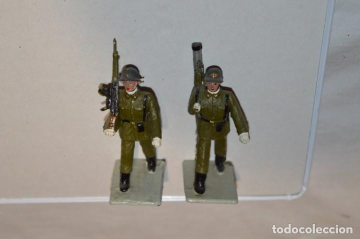 Figuras de Goma y PVC: INFANTERIA - Antiguo/vintage - 13 Soldados desfilando - REAMSA y GOMARSA - ¡Mira fotos! - Foto 7 - 220887528
