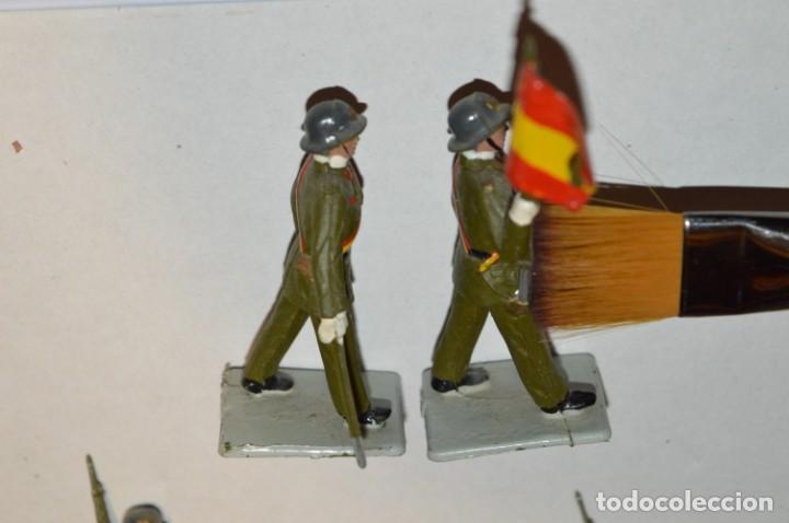 Figuras de Goma y PVC: INFANTERIA - Antiguo/vintage - 13 Soldados desfilando - REAMSA y GOMARSA - ¡Mira fotos! - Foto 8 - 220887528