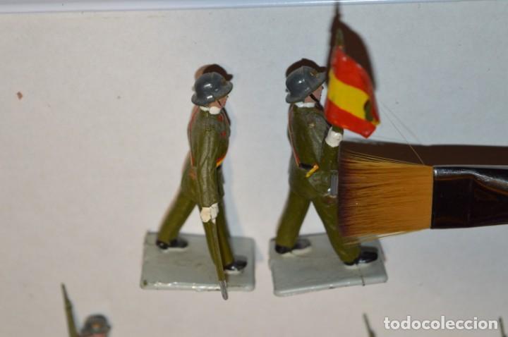 Figuras de Goma y PVC: INFANTERIA - Antiguo/vintage - 13 Soldados desfilando - REAMSA y GOMARSA - ¡Mira fotos! - Foto 9 - 220887528