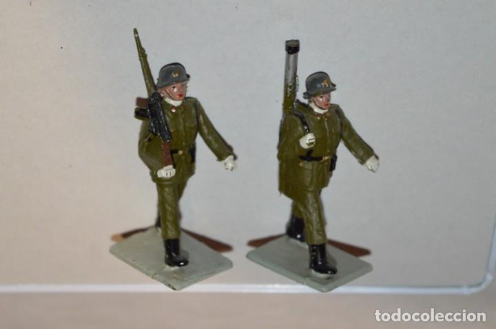 Figuras de Goma y PVC: INFANTERIA - Antiguo/vintage - 13 Soldados desfilando - REAMSA y GOMARSA - ¡Mira fotos! - Foto 13 - 220887528
