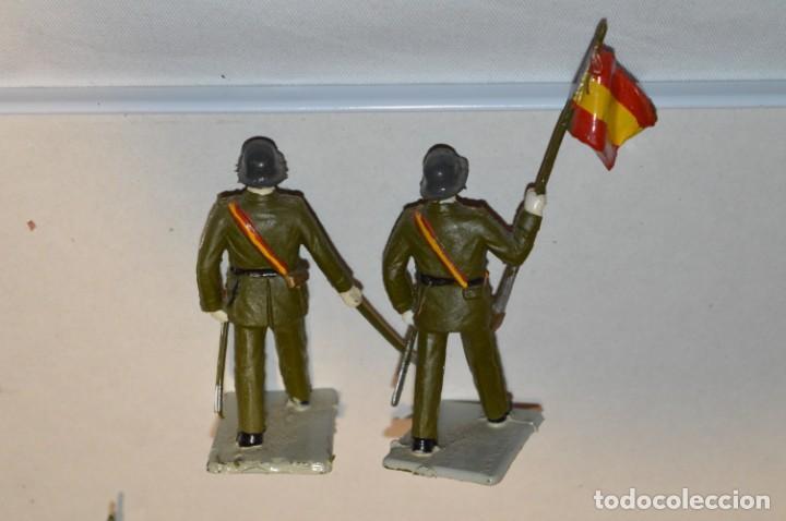 Figuras de Goma y PVC: INFANTERIA - Antiguo/vintage - 13 Soldados desfilando - REAMSA y GOMARSA - ¡Mira fotos! - Foto 14 - 220887528