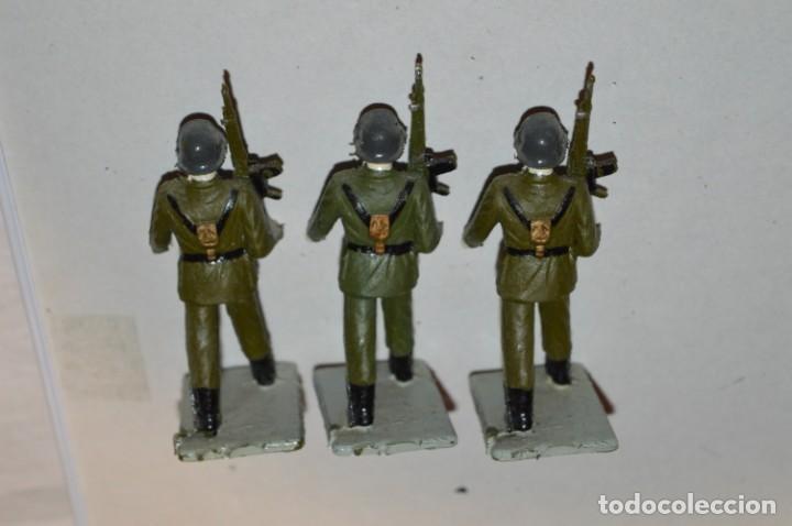 Figuras de Goma y PVC: INFANTERIA - Antiguo/vintage - 13 Soldados desfilando - REAMSA y GOMARSA - ¡Mira fotos! - Foto 15 - 220887528