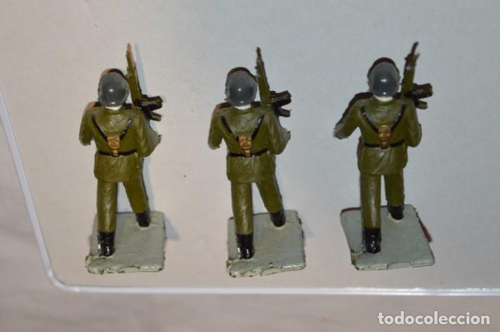 Figuras de Goma y PVC: INFANTERIA - Antiguo/vintage - 13 Soldados desfilando - REAMSA y GOMARSA - ¡Mira fotos! - Foto 17 - 220887528