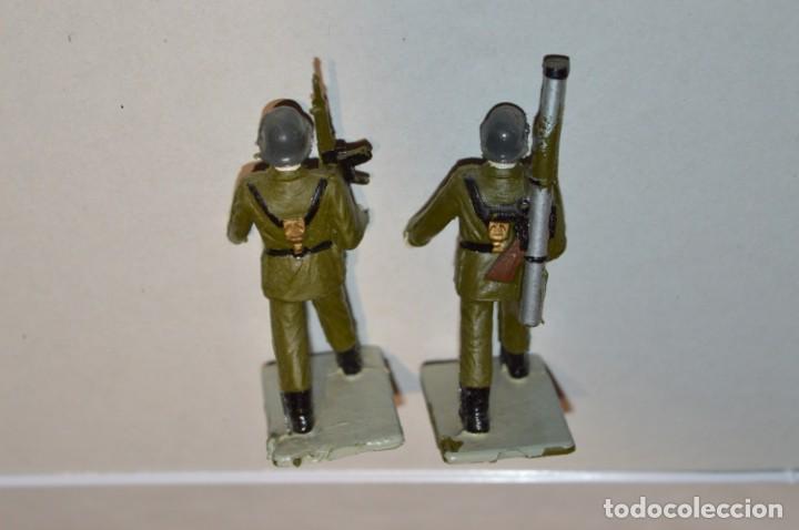 Figuras de Goma y PVC: INFANTERIA - Antiguo/vintage - 13 Soldados desfilando - REAMSA y GOMARSA - ¡Mira fotos! - Foto 18 - 220887528