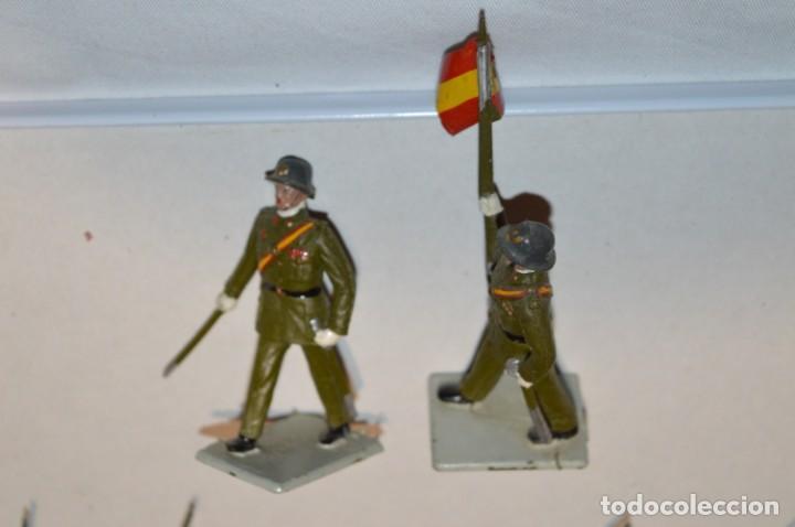 Figuras de Goma y PVC: INFANTERIA - Antiguo/vintage - 13 Soldados desfilando - REAMSA y GOMARSA - ¡Mira fotos! - Foto 19 - 220887528