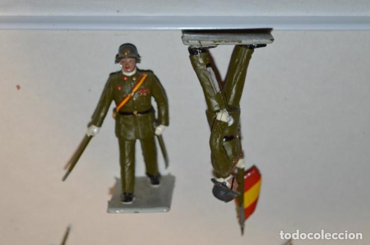 Figuras de Goma y PVC: INFANTERIA - Antiguo/vintage - 13 Soldados desfilando - REAMSA y GOMARSA - ¡Mira fotos! - Foto 20 - 220887528