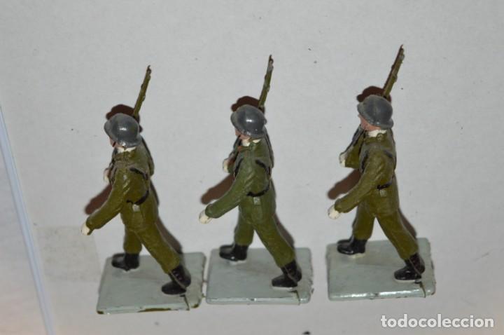 Figuras de Goma y PVC: INFANTERIA - Antiguo/vintage - 13 Soldados desfilando - REAMSA y GOMARSA - ¡Mira fotos! - Foto 21 - 220887528