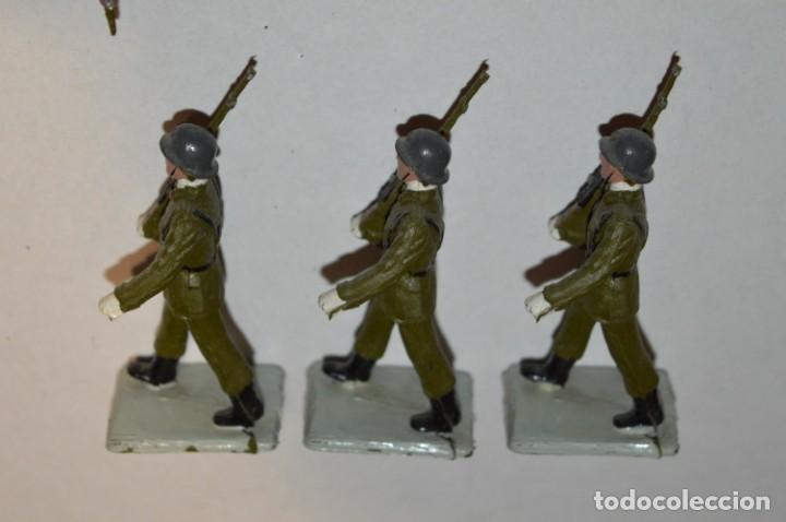 Figuras de Goma y PVC: INFANTERIA - Antiguo/vintage - 13 Soldados desfilando - REAMSA y GOMARSA - ¡Mira fotos! - Foto 22 - 220887528