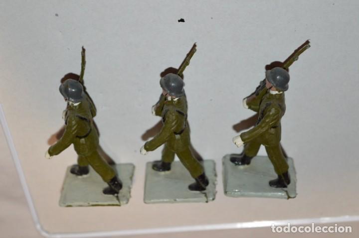 Figuras de Goma y PVC: INFANTERIA - Antiguo/vintage - 13 Soldados desfilando - REAMSA y GOMARSA - ¡Mira fotos! - Foto 23 - 220887528