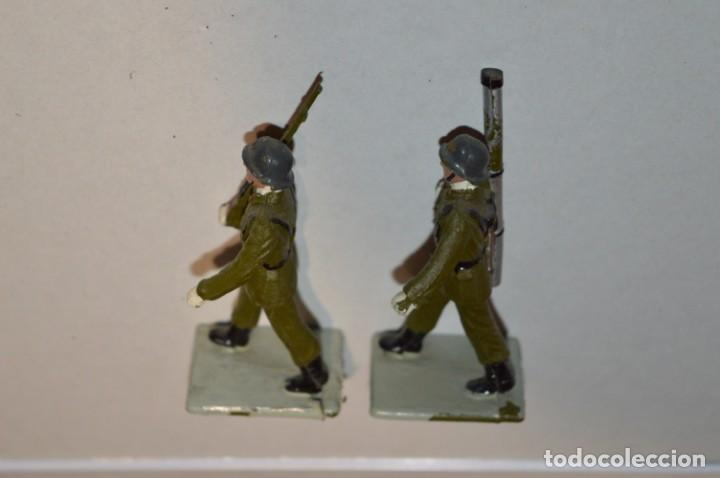 Figuras de Goma y PVC: INFANTERIA - Antiguo/vintage - 13 Soldados desfilando - REAMSA y GOMARSA - ¡Mira fotos! - Foto 24 - 220887528