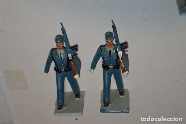 Figuras de Goma y PVC: EJERCITO DEL AIRE - Antiguo/vintage - 13 Soldados desfilando - REAMSA y GOMARSA - ¡Mira fotos! - Foto 5 - 220887811