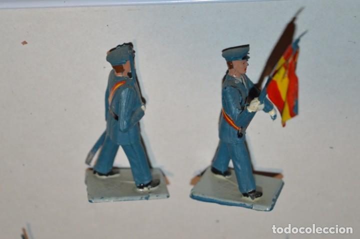Figuras de Goma y PVC: EJERCITO DEL AIRE - Antiguo/vintage - 13 Soldados desfilando - REAMSA y GOMARSA - ¡Mira fotos! - Foto 9 - 220887811