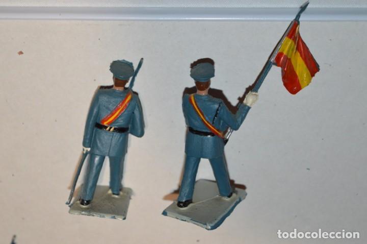 Figuras de Goma y PVC: EJERCITO DEL AIRE - Antiguo/vintage - 13 Soldados desfilando - REAMSA y GOMARSA - ¡Mira fotos! - Foto 14 - 220887811