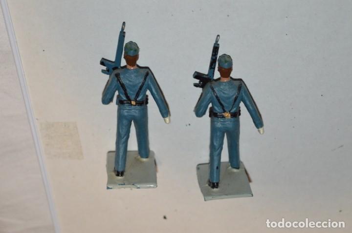 Figuras de Goma y PVC: EJERCITO DEL AIRE - Antiguo/vintage - 13 Soldados desfilando - REAMSA y GOMARSA - ¡Mira fotos! - Foto 15 - 220887811